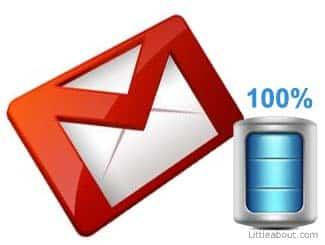 Como resolver falta de espaço no Gmail