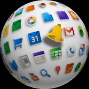google alerta logotipo