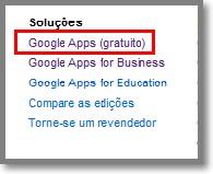 Como instalar Google Apps Grátis