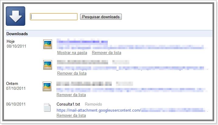 Como encontrar downloads do Google Chrome   Seo Martin