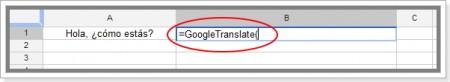 função no google planilhas