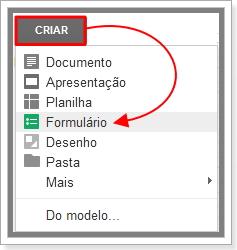Imagem de como Criar formulário no Google Drive