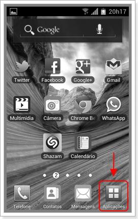 Aplicações do Android