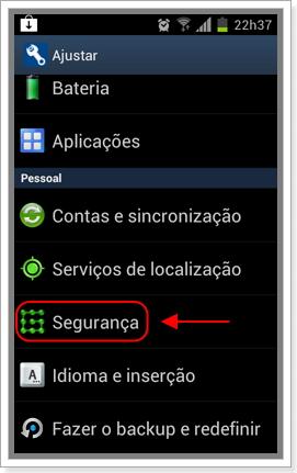 Segurança do Android