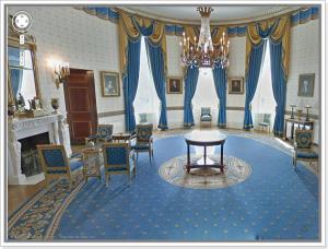 Imagem interna da Casa Branca