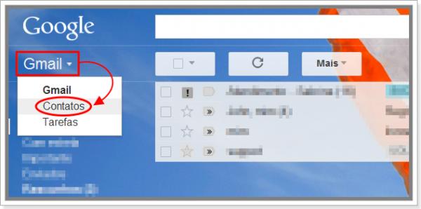 Contatos do Gmail