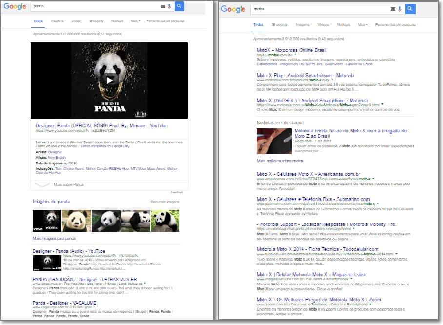 Google Pesquisa Tudo
