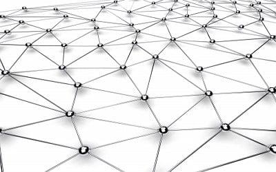 Imagem de muitos links conectados entre si