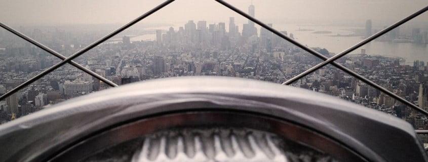 visão de prédio alto