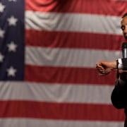 presidente obama olha para o relógio