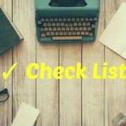 Checklist em posts wordpress