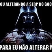 Darth Vader anuncia mudança no google