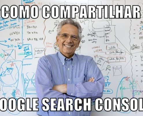 Professor ensina Como compartilhar o Google Search Console
