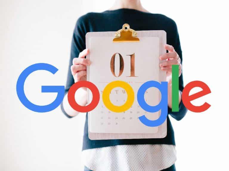 Google: última data de modificação é importante