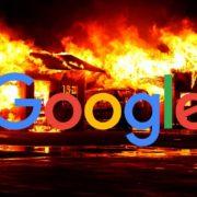 Aviso de site invadido no Google
