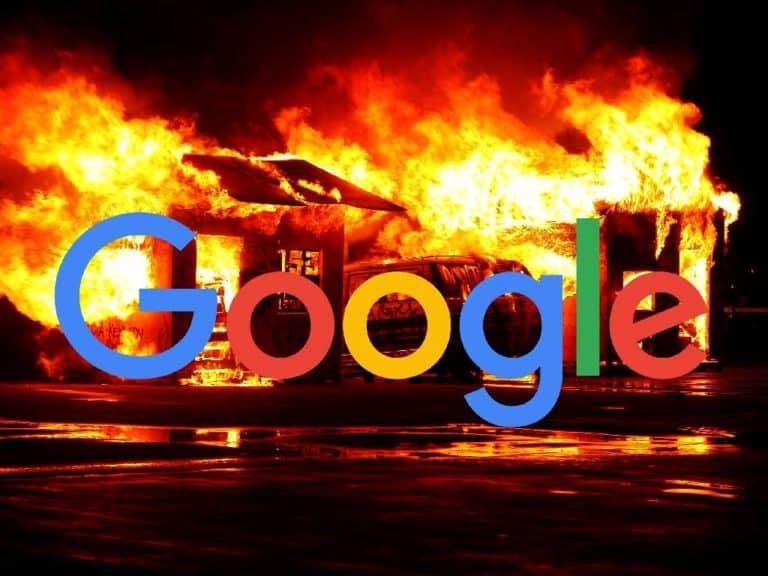 Google não remove o aviso de site invadido com soft 404