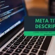 como editar meta title e description nas categorias woocommerce