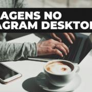 mensagens instagram desktop