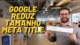 google reduz meta title