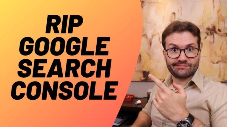Google aposenta antigo Google Search Console