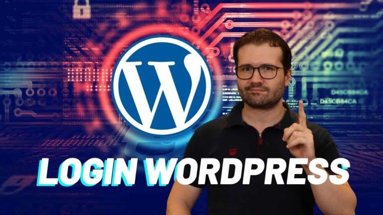 Como fazer login no WordPress pela 1ª Vez para Redatores Web