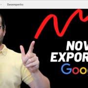 Google atualiza Search Console com nova Opção de Exportação de Dados