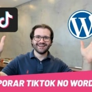 Como incorporar TikTok em seus posts Wordpress