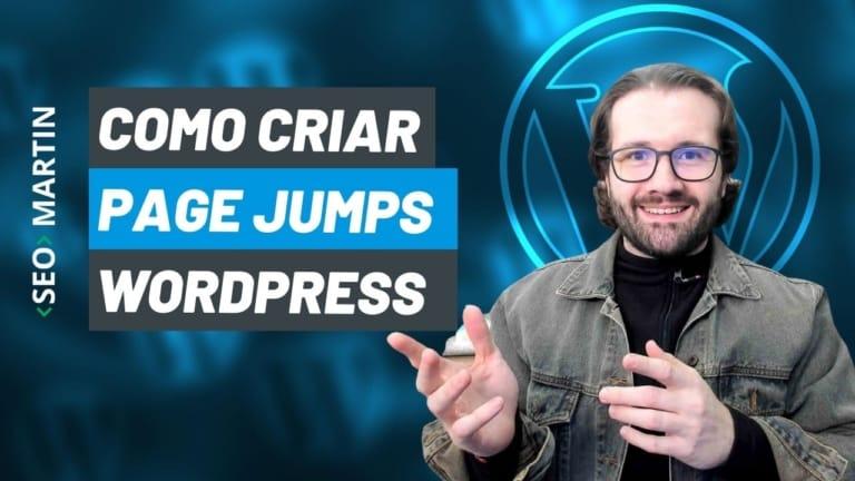 Como criar Index ou Atalhos de Página no WordPress