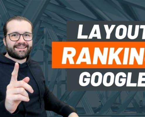 GOOGLE CONFIRMA: Mudança de Layout pode Impactar posicionamentos do seu site