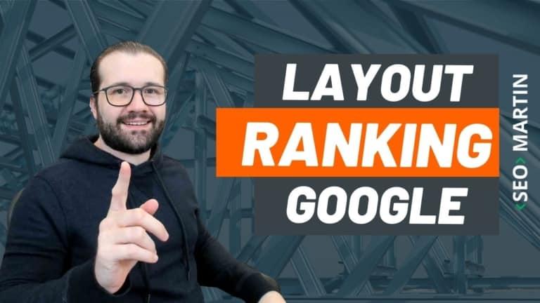 Mudança de Layout pode Impactar posicionamentos do seu site no Google?