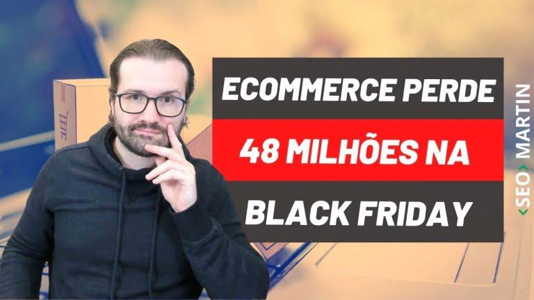 Lentidão e Instabilidade fazem E-commerces perderem mais de 48 milhões na Black Friday