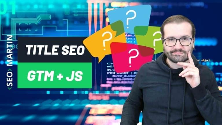 Google vai ler meu title se eu atualizar ele usando GTM com Javascript?