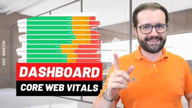 Dashboard Google Core Web Vitals Page Experience: Passo a Passo de como criar um Report Matador