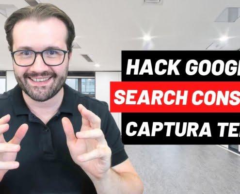 seo martin explica como Google Search Console Hack - Como Visualizar Captura de Tela de Qualquer Parte da Página