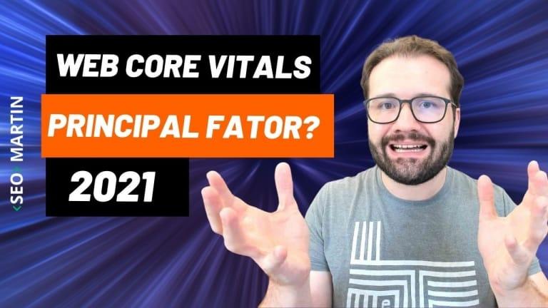 Core Web Vitals serão o principal fator de posicionamento no Google em 2021?
