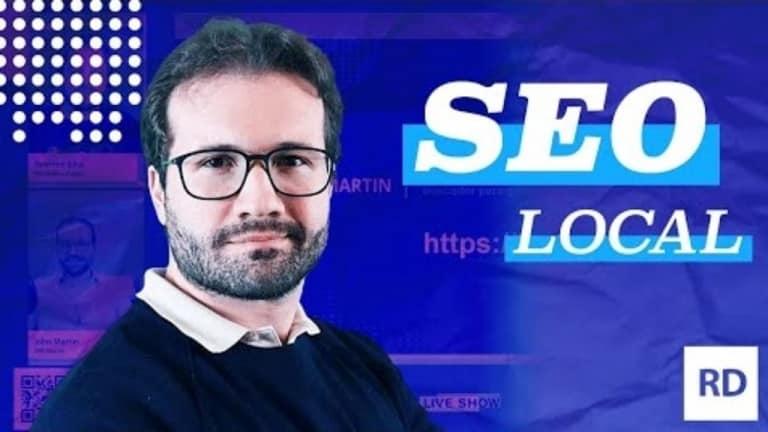 Seo Martin no SEO Live Show