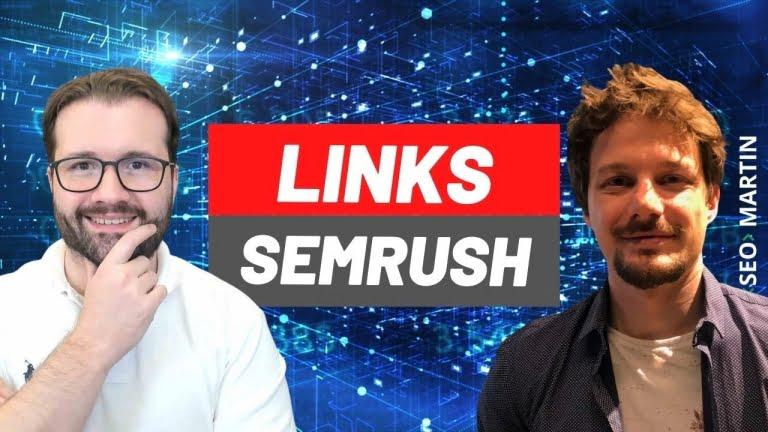 Live sobre a Nova Ferramenta de Backlinks da Semrush com Eric Casagrande